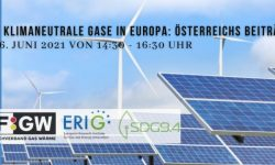 Conference about H2 and climate-neutral gases in Europe: Austria's contributions & opportunities